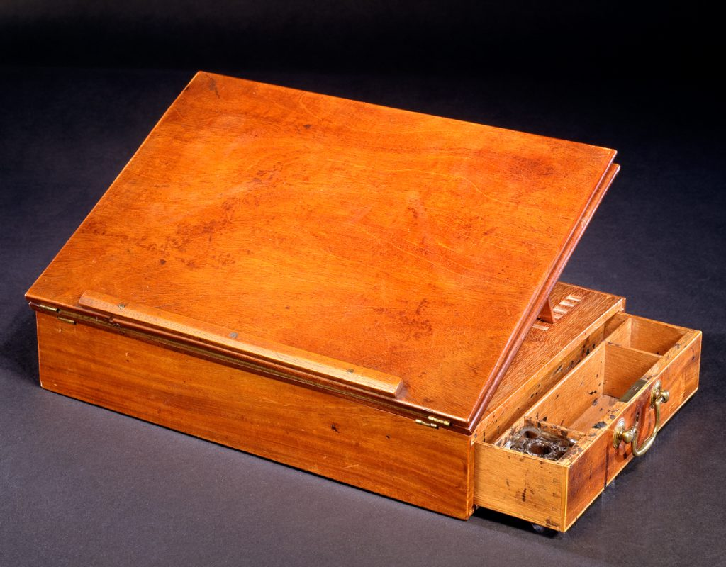 Thomas Jefferson's mahogany desk (Smithsonian Institution)