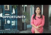 SelectUSA video opener with Ying McGuire and word 'Opportunity' (State Dept.)