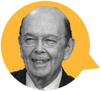 Small photo of Commerce Secretary Wilbur Ross (State Dept./Julia Maruszewski)