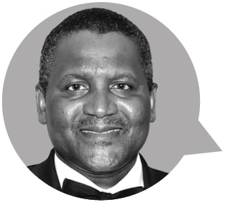 Petite photo du coprésident de l'US-Africa Business Center Aliko Dangote (Département d'État/Julia Maruszewski)