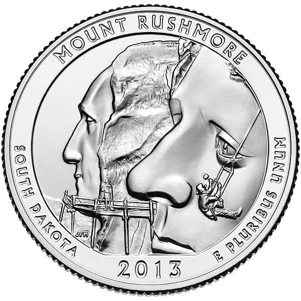 Mount Rushmore National Memorial quarter (U.S. Mint)