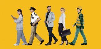 Varios trabajadores estadounidenses (Shutterstock)