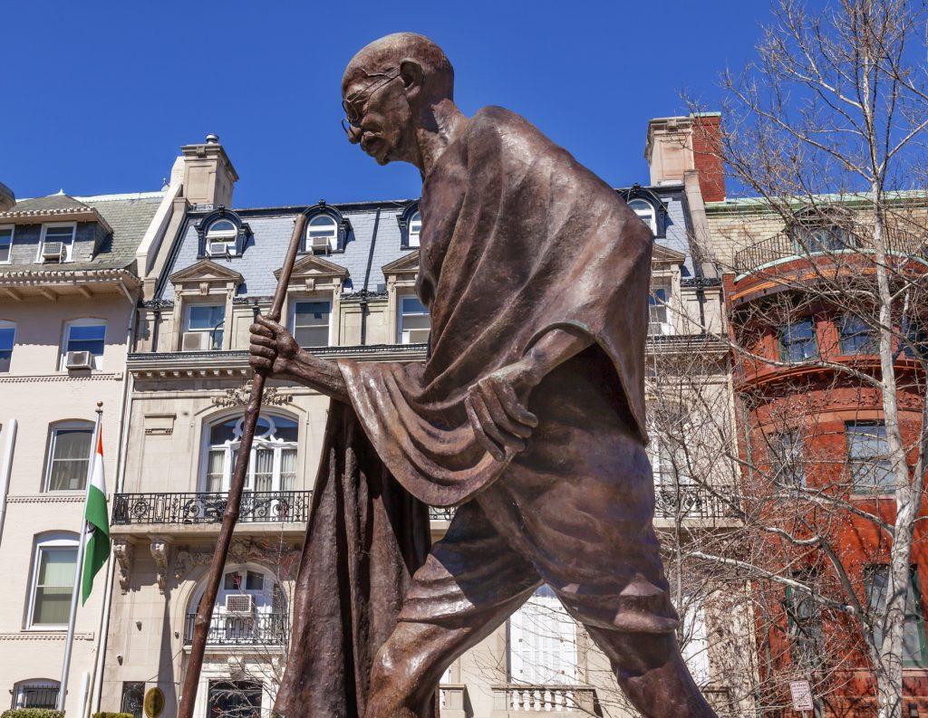 Statue of Mahatma Gandhi (Shutterstock)