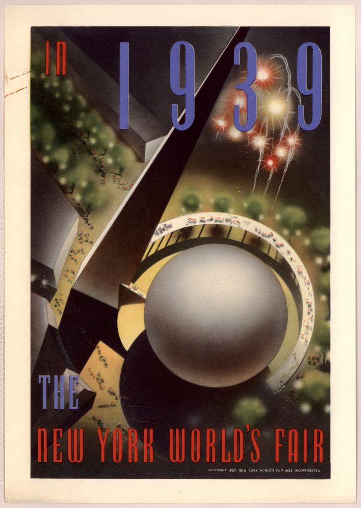 1939 New York World's Fair poster (Library of Congress)