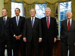 Пять бывших президентов США (© AP Images)