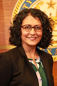 Portrait of Minal Patel Davis (Courtesy of Minal Patel Davis)