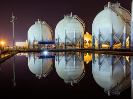 Natural gas tanks (Shutterstock)