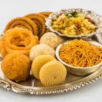 Indian foods on a silver platter (© Shutterstock)