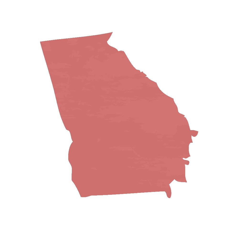 Silhouette of Georgia