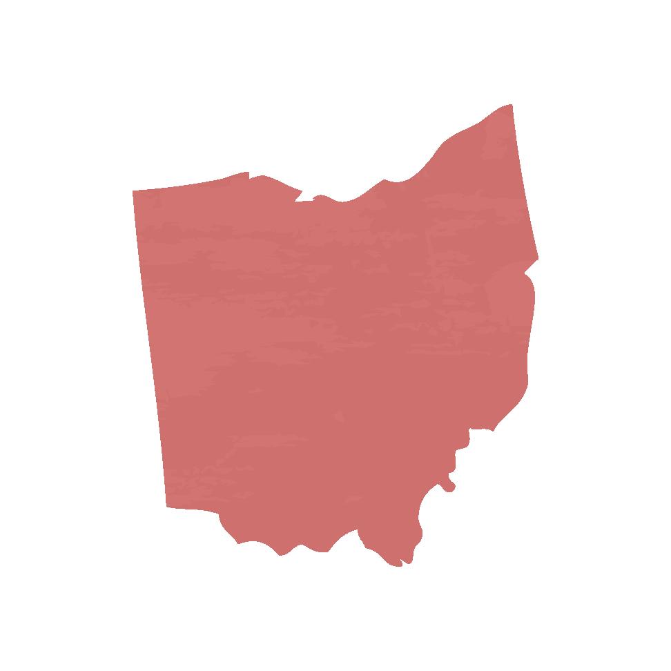 Silhouette of Ohio