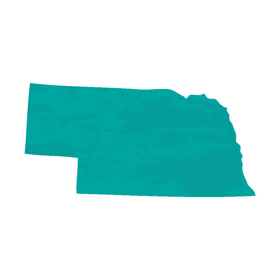 Silhouette of Nebraska