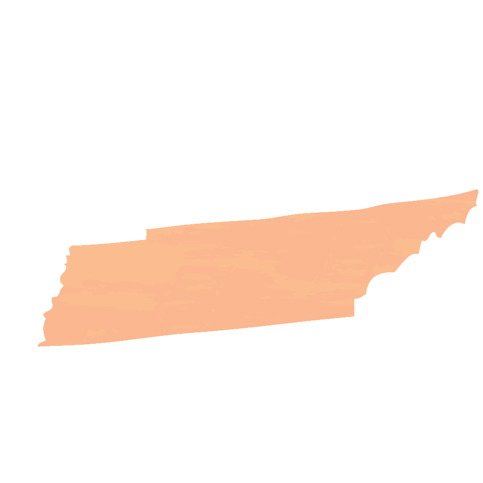 Silhouette of Tennessee