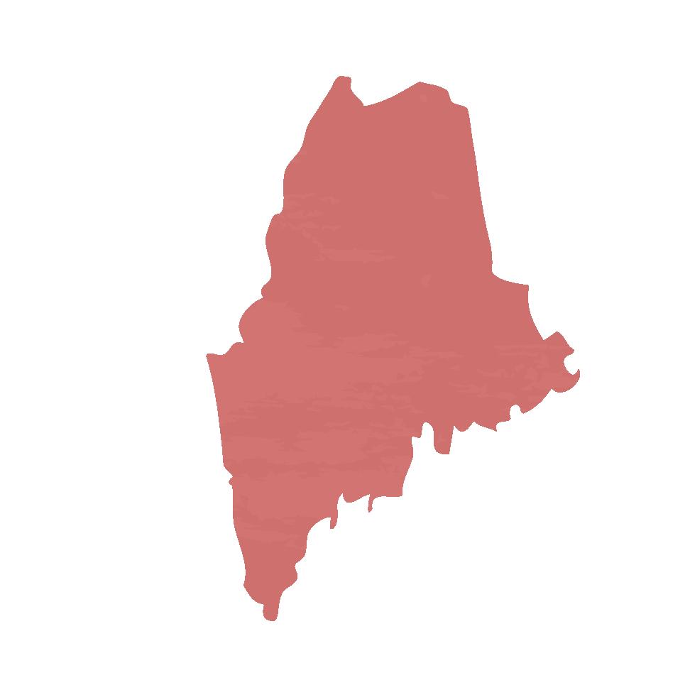 Carte du Maine