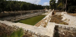 Solomon's Pools in Bethlehem (Musa al Shaer/AFP via Getty Images)