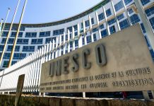 General view of the UNESCO building (© Charles Platiau/Reuters)