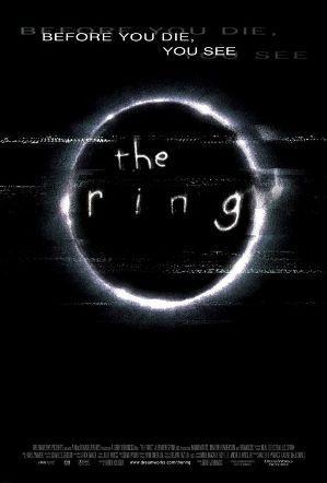 《午夜凶铃》(The Ring)2002年电影海报(图片: Wikipedia)