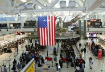 Inside JFK airport terminal (© Shutterstock)