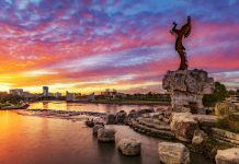Sculpture skyline of Wichita, Kansas (© Shutterstock)