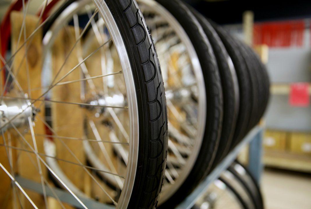 Ruedas de bicicleta (Detroit Bikes)