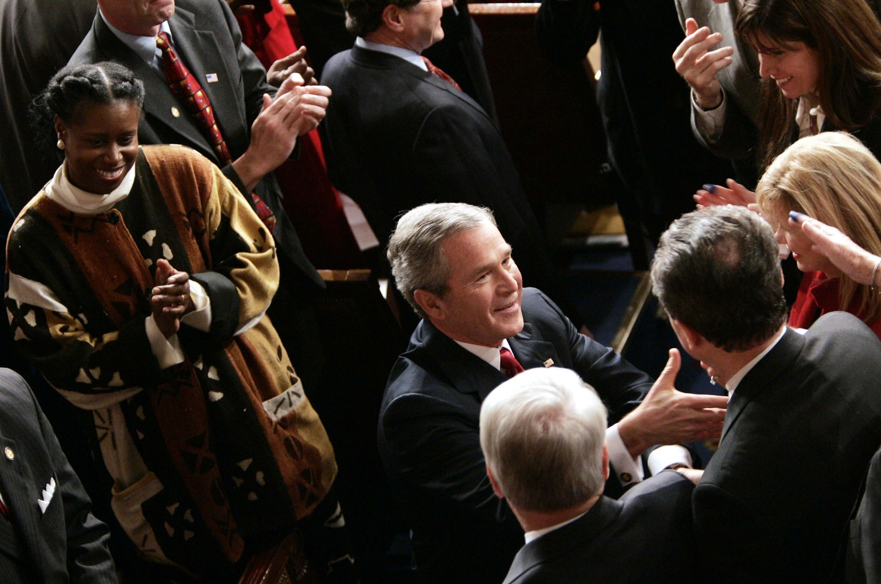 analysis of george w bushs state of the unions speech Compromising the manichaean style: a case study of the 2006 state of the union address  craig r smith  california state university, long beach   the 2006 state of the union address of.