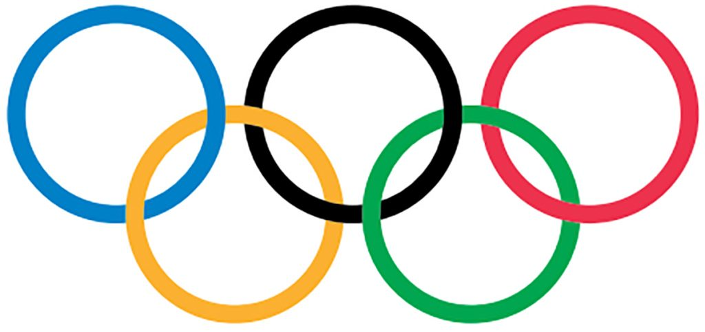 Graphic of five-ring symbol of the International Olympic Committee (© IOC)