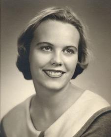 Photo of a young Susan G. Finley (NASA)