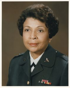 Headshot of Hazel Johnson-Brown in Army uniform (Courtesy of Gloria Smith)