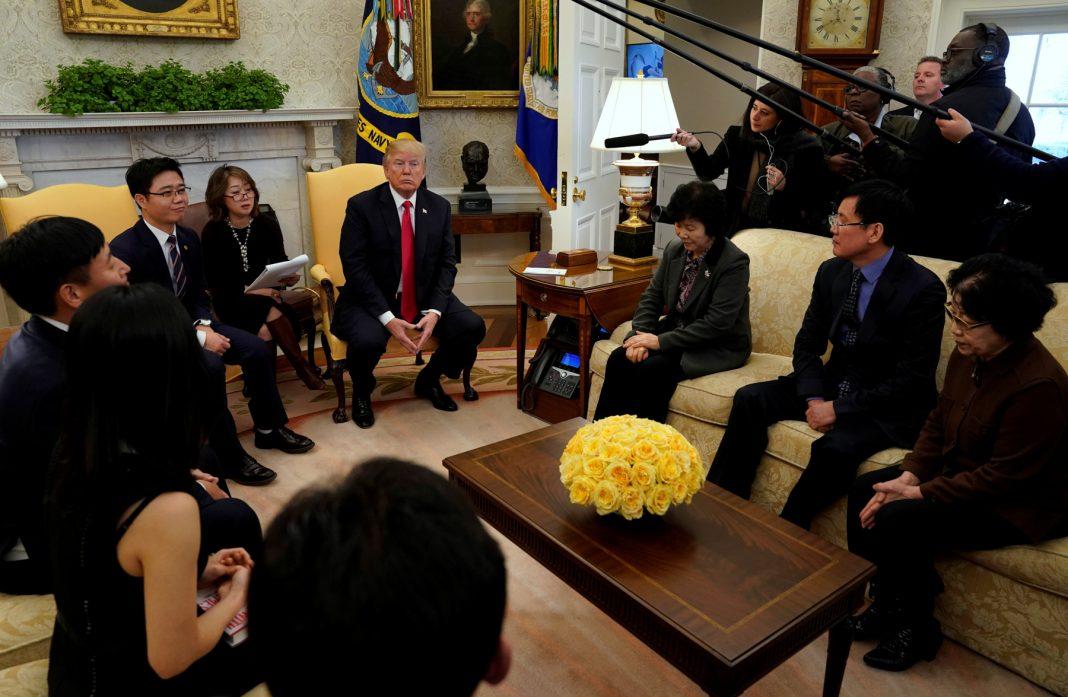 Беседа в Белом доме (© Yuri Gripas/Reuters)