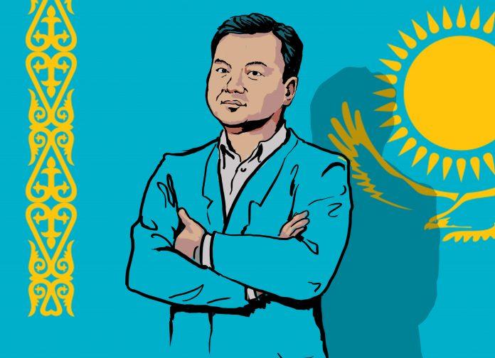 Illustration of Rauan Kenzhekhanuly (State Dept./D. Thompson)