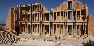 Roman amphitheater in Sabratha, Libya (©Mahmud Turkia/AFP/Getty Images)