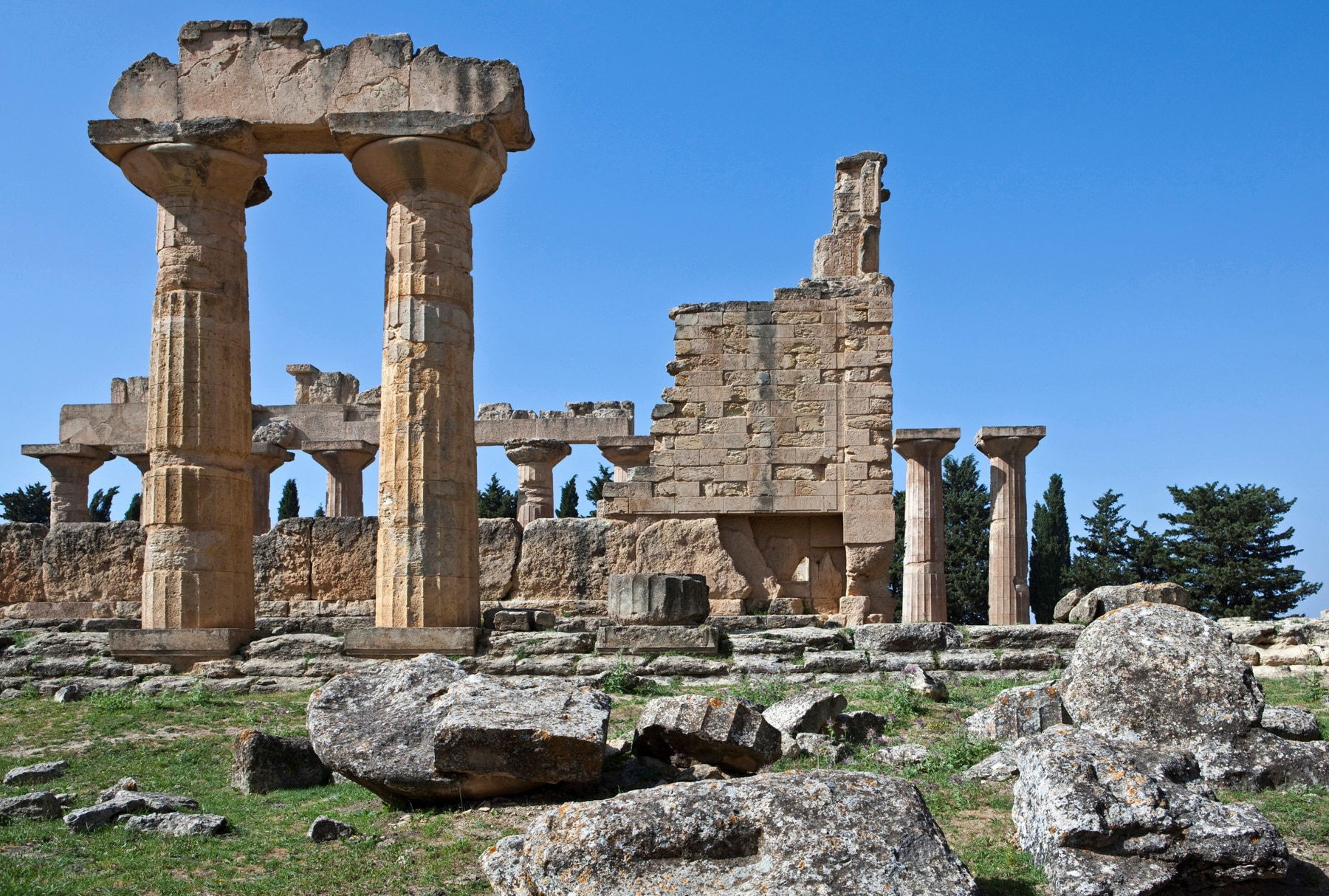 Paredes columnas y rocas fracturadas (© Giuseppe Masci/AGF/UIG/Getty Images)
