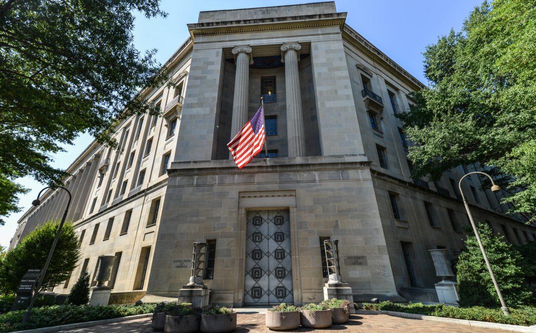 US Department of Justice building (© Shutterstock)