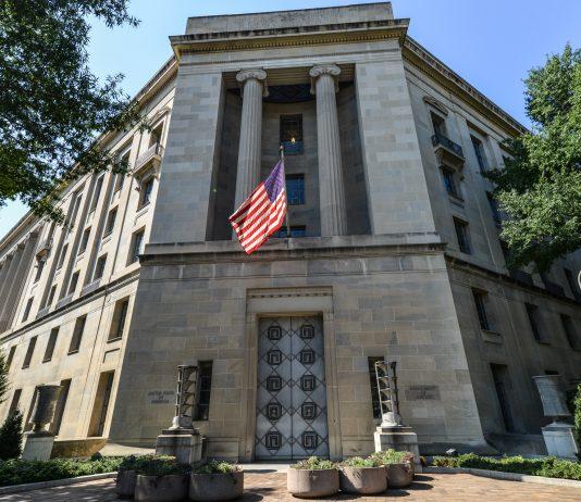 Edificio del Departamento de Justicia de Estados Unidos (© Shutterstock)