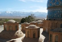 Túmulo no Irã (© Andrii Zhezhera/Shutterstock)