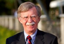 Gros plan de John Bolton (Simon Dawson/Bloomberg/Getty Images)