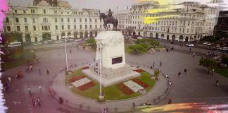 Monument to Jose de San Martin in Lima, Peru (MediaCube)