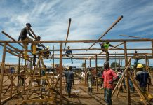 Construction crew working (Morgana Wingard/USAID)