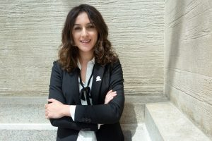 Portrait photo of Ingrid Xhafa (State Dept./D.A. Peterson)