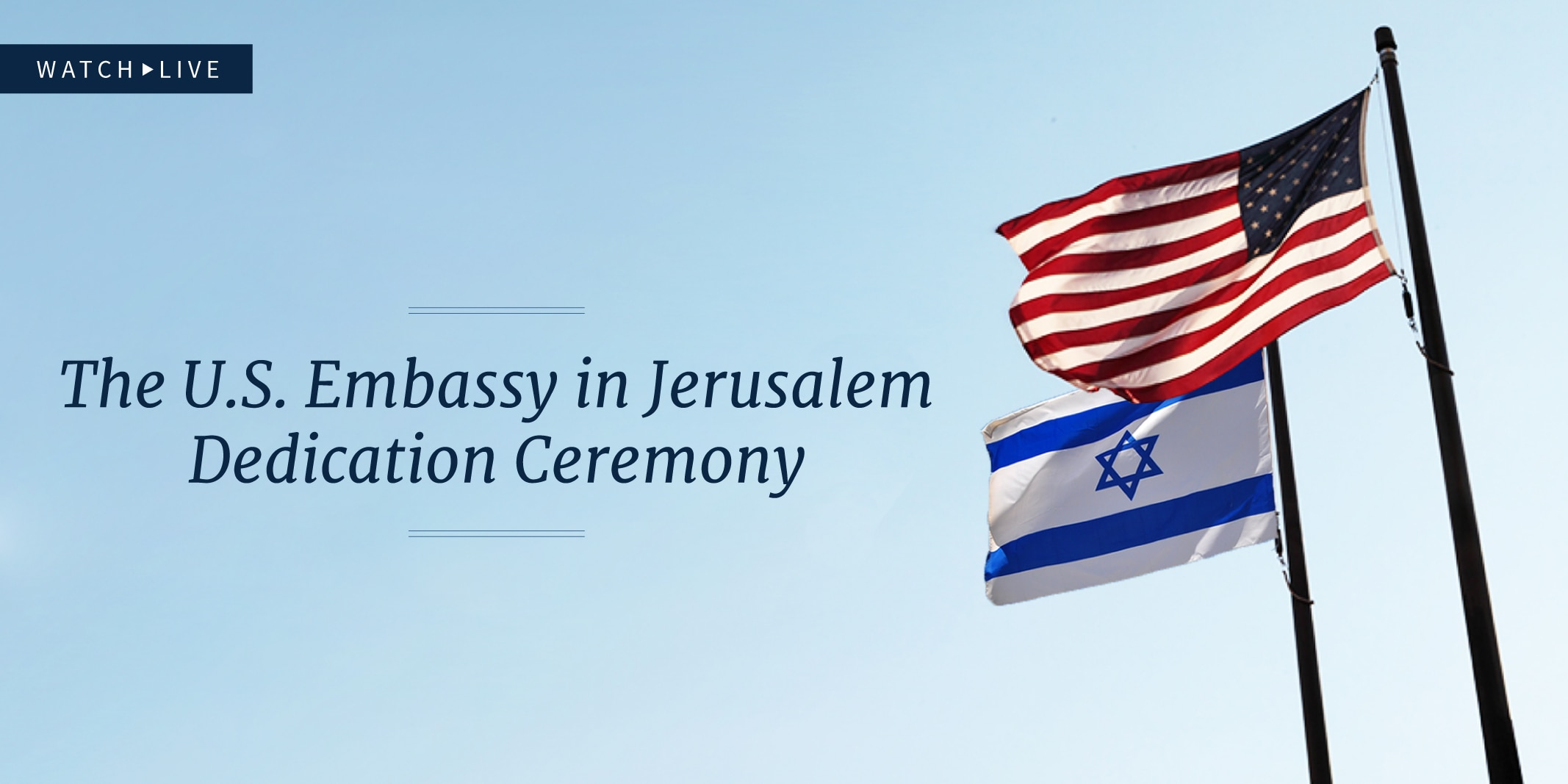 Graphic promoting video on embassy dedication ceremony (State Dept.)