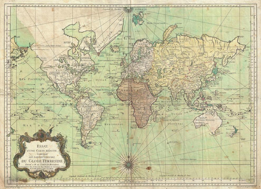 Mapa del mundo (© Artokoloro Quint Lox Limited/Alamy)
