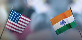 U.S. and India flags