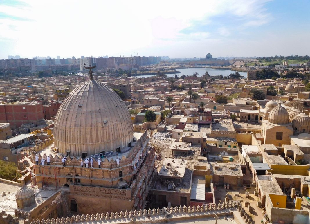 Панорама Каира (State Dept./ECA Cultural Heritage Center)
