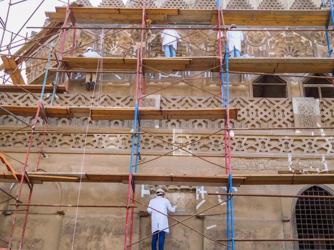 Реставрационные работы (State Dept./ECA Cultural Heritage Center)