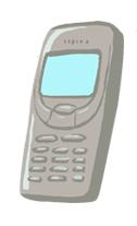 Illustration of cellphone