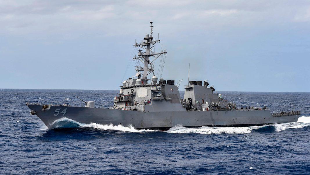Barco de la Armada de Estados Unidos (U.S. Navy/especialista en comunicación de masas/Benjamin Dobbs)