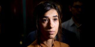 Close-up of Nadia Murad (© Andrew Harnik/AP Images)