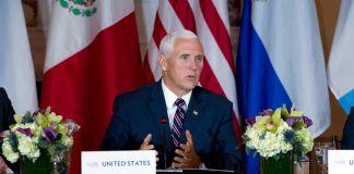 Mike Pence speaking (© Jose Luis Magana/AP Images)