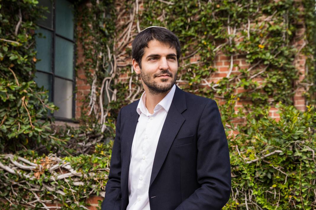 Portrait photo of man wearing yarmulke (Emily Berl/State Dept.)
