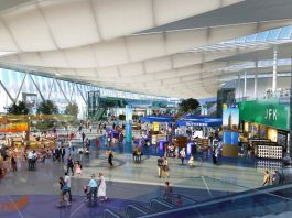 Artist's rendering of John F. Kennedy International Airport in New York (© New York Governor's Office/AP)