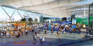 艺术家描绘的纽约约翰·肯尼迪国际机场(John F. Kennedy International Airport)(© New York Governor's Office/AP)